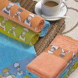 100% cotone 16S/1 asciugamano da cucina con anno (GLY0600)