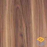 Бумага деревянного зерна грецкого ореха декоративная для пола от поставщика Китая