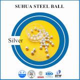 Boule d'acier en argent / or / nickel / zinc / étain / cuivre / laiton