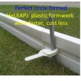 園芸Walkpathの費用節約の再使用可能で曲げ堅いプラスチック型枠