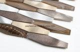 不規則な良質のアルミニウム金属のモザイク
