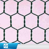 Il PVC ha ricoperto la rete metallica esagonale/rete metallica esagonale per la rete fissa dell'azienda agricola/reticolato saldato galvanizzato della rete fissa ricoperto PVC della rete metallica