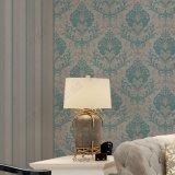 Lindo design de Flores estilo italiano de parede de Damasco