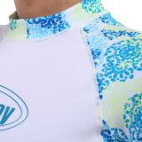 De Tweedelige Onbesuisde Wacht van vrouwen `S Lycra voor Swimwear, het Duiken Slijtage, de Slijtage van Sporten