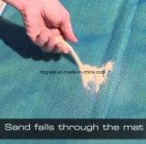 빠른 모래 증거 튼튼한 나일론 모래 자유로운 바닷가 매트