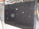 Строительный материал отрезал по заданному размеру естественный черный сляб Grantie галактики для Countertop, верхней части тщеты, раковины