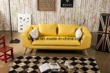 居間の家具の現代的な本革のソファー