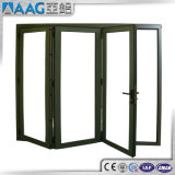 Puertas estándar del aluminio de Australian/USA/EU/de aluminio de plegamiento