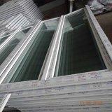 Do Casement plástico do frame UPVC do perfil da fibra de vidro da venda da fábrica de China porta de vidro para o banheiro
