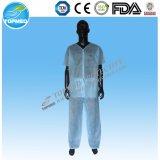 Médicos descartáveis esfregam o terno com CE da boa qualidade & ISO