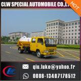 camion de nettoyage de l'égout 3000L, camion d'aspiration d'eaux d'égout de vide, camion de cambouis