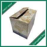 段ボール紙のボードのワインボックス包装