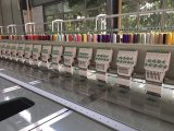 28のヘッド9カラー平らな刺繍機械