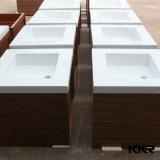 Lavabo à main en pierre solide en acrylique moderne