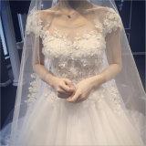 2017 أنيق أميرة [بتو] [بوو] [ويست] عرس ثوب ([درم-100063])