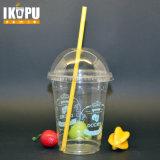 Gobelets en plastique jetables pour boissons froides Crème glacée avec couvercle 1 oz-24 oz