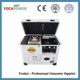 малый портативный молчком тепловозный генератор 5kVA