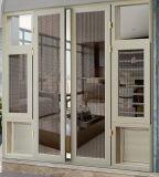 Het Franse Openslaand raam van het Glas van het Aluminium van de manier