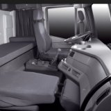 Saic Iveco 6X4 340HP 구체 믹서 트럭
