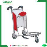 Carro de la carretilla de las compras del aeropuerto de 3 ruedas
