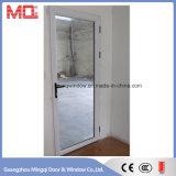 Porta exterior do alumínio com projeto do indicador de abertura