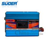 Suoer 600W 12V 230V outre d'inverseur de pouvoir de réseau avec la protection Anti-Renversée (SAA-D600AF)