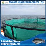 HDPE que cultiva gaiolas do mar da gaiola da rede do peixe pequeno dos peixes