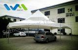 tente claire de Gazebo d'hexagone de crête élevée de toit de PVC de 12X12m au Kenya