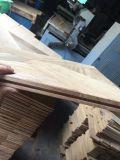 工場直売の自然な防水チーク木床