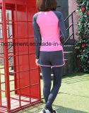 Быстро сухой идущий костюм одежды для женщин/повелительницы Йоги Носить