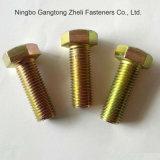 Boulons Hex lourds galvanisés des dispositifs de fixation DIN933 pour Garde 12.9