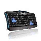104 piezas del ordenador de los claves ataron con alambre el teclado del juego (KB-1801)
