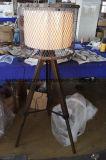 Lâmpada de assoalho de madeira Home moderna do tripé do ferro (F2034)