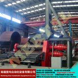 최신! Mclw12CNC-80*3500 큰 유압 CNC 4 대 롤러 격판덮개 구부리거나 회전 기계