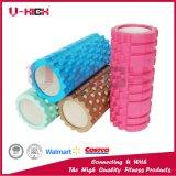 Depresión básica del estilo del rodillo del masaje del rodillo de la espuma de la inyección de la densidad de Hige