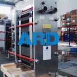 Cambiador de calor de la placa de Laval M6b M6m de la alfa con el Ti AISI304 316