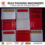 lista de empaque automático máquina de hacer de la bolsa de sobres para DHL