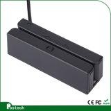 新しいポータブルRS232 Msr100 Hi/LoCo 3トラック小型磁気ストライプのカード読取り装置