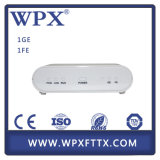 FTTH 1ge + 1fe Gepon ONU Optical Network Unit
