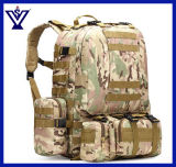 Gran volumen de senderismo acampando mochila Miltary Bag bolso del ejército (SYSG-1813)