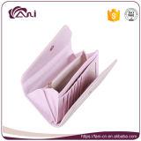Бумажник кредитной карточки Гуанчжоу Fani кожаный, бумажник застежки -молнии, бумажник женщин
