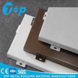 Painel contínuo de alumínio exterior do revestimento PVDF da parede do certificado de ISO/SGS