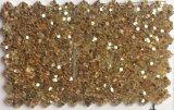 Кожа PU яркия блеска высокого качества для бумаги стены Hw-1420