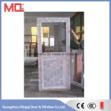 Media puerta holandesa de aluminio