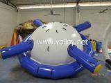 Equipo suave del juego del agua de Saturno del agua inflable inflable del eje de balancín