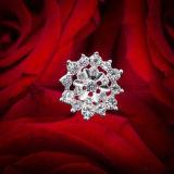 Sprkly Bouquet Jewelry Pick Wedding Bouquet Jóias