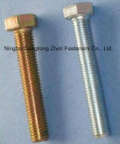 DIN933 Full Threaded Hexagon Bolts with Zinc Plated