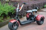 두 배 시트를 가진 Citycoco Harley 스쿠터