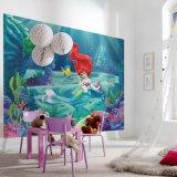 環境に優しい高リゾリューションの促された図形自己接着壁の壁画の印刷
