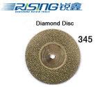 345 고품질 치과 다이아몬드 디스크